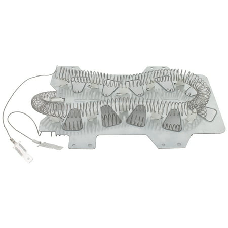 DC47-00019A Dryer Heating Element & DC96-00887A Thermal Fuse Replacement for Samsung DV431AEW/XAA-002 Dryer - Compatible with DC47-00019A & DC96-00887C Heater Element & Bracket Thermostat Kit - image 2 of 4