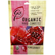 Go Naturally Organic Pomegranate Hard Candy, 3.5 oz (Pack of 6)