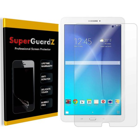 [3-Pack] For Samsung Galaxy Tab E Nook 9.6 inch - SuperGuardZ Ultra Clear Screen Protector, Anti-Scratch, Anti-Bubble (Samsung Nook Screen Cover)