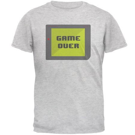 Halloween Old School Gamer Game Over Mens T Shirt](Halloween Game Ideas For Work)