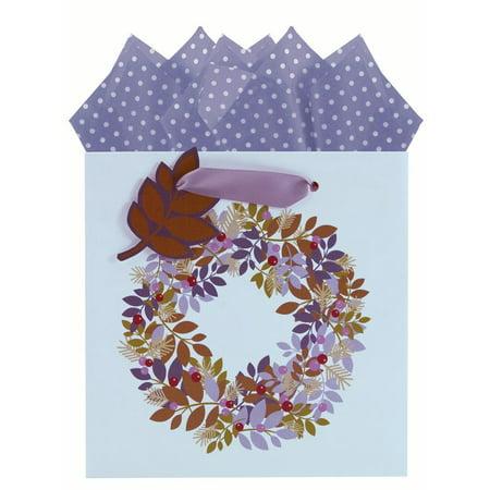 The Gift Wrap Company Wreath Truffle Bag - The Gift Wrap Company