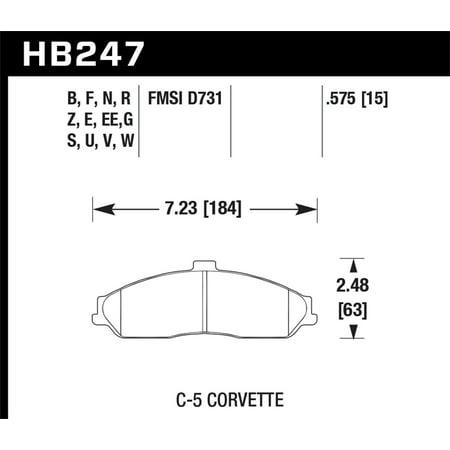 Hawk 04-09 Cadillac XLR / 97-11 Chevrolet Cadillac / 05-06