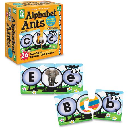 Carson-Dellosa, CDP842001, Grade PreK-1 Alphabet Ants Board Game, 1 Each, Multicolor](Alphabet Halloween Game)