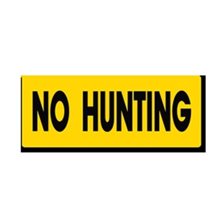 EverMark YHM001-01 No Hunting Clip-On Sign - image 1 of 1