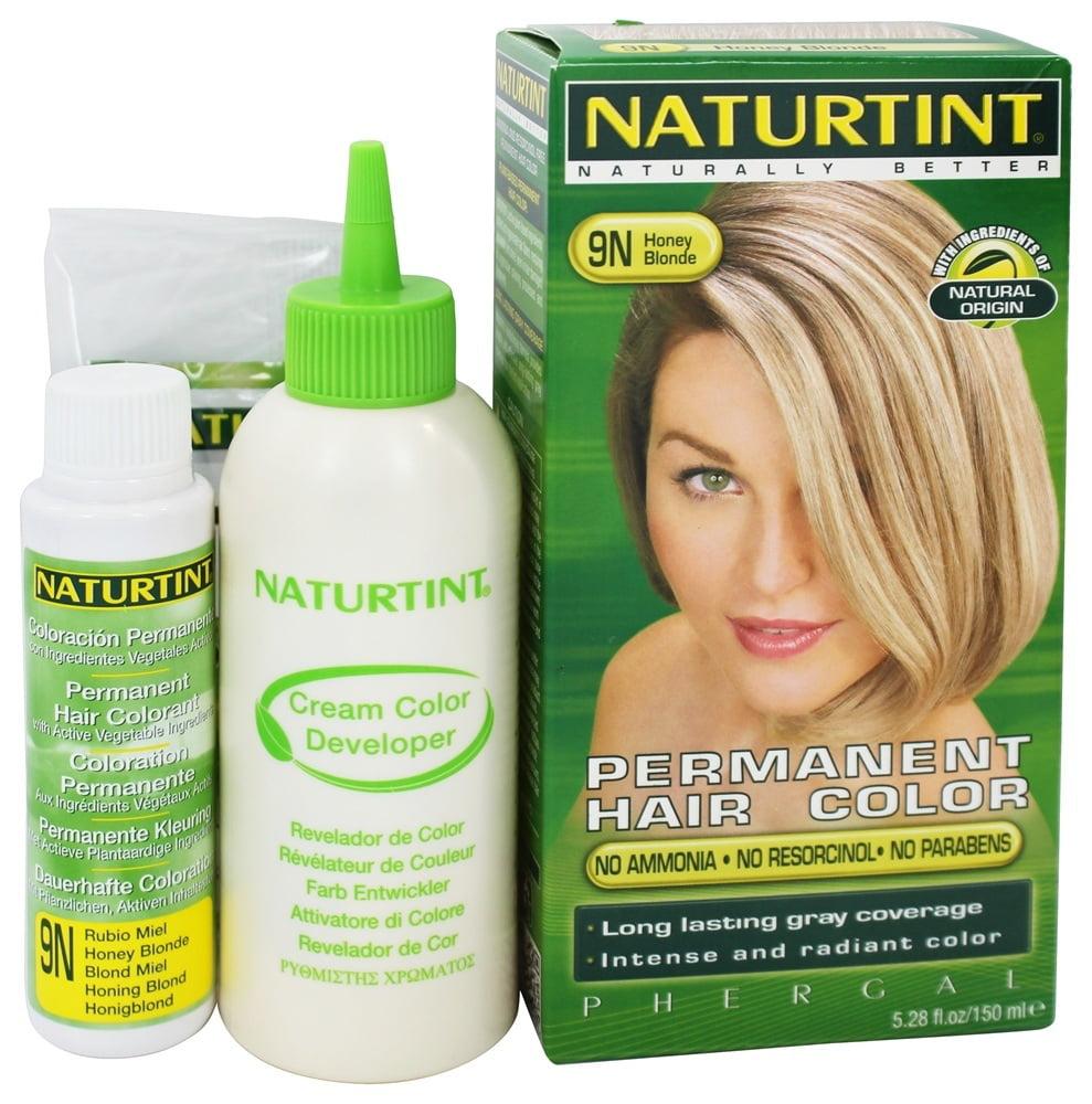 Naturtint Permanent Hair Color, Honey Blonde 9N