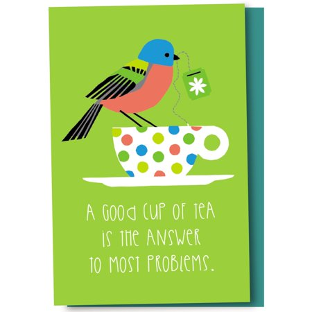 Tree-Free Greetings Tea & Sympathy Boxed EcoNotes Blank Note Cards-FS56991