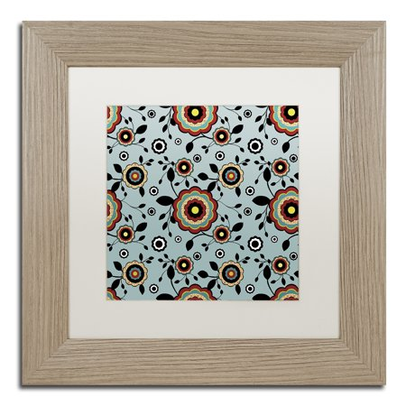 Trademark Fine Art 'Fiesta Flowers II' Matted Framed Art by Jennifer Nilsson - Fiesta Flowers