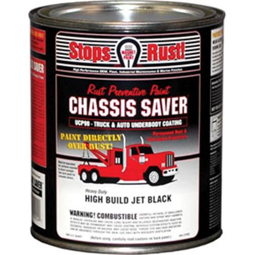 Magnet Paint UCP99-04 Chassis Saver Paint Gloss Black, 1 Quart Can