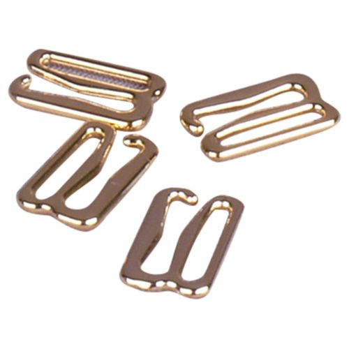 Opening Porcelynne Premium Quality Silver Metal Alloy Replacement Bra Strap Slide Hook 1 4 Pieces 2 Pairs 25mm
