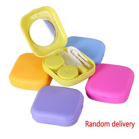 Portable Contact Lens Kit Case Box Lens Storage Holder Container](Halloween Contact Lenses For Sale)