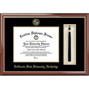 "California State University, Northridge 8.5"" x 11"" Tassel Box and Diploma Frame"