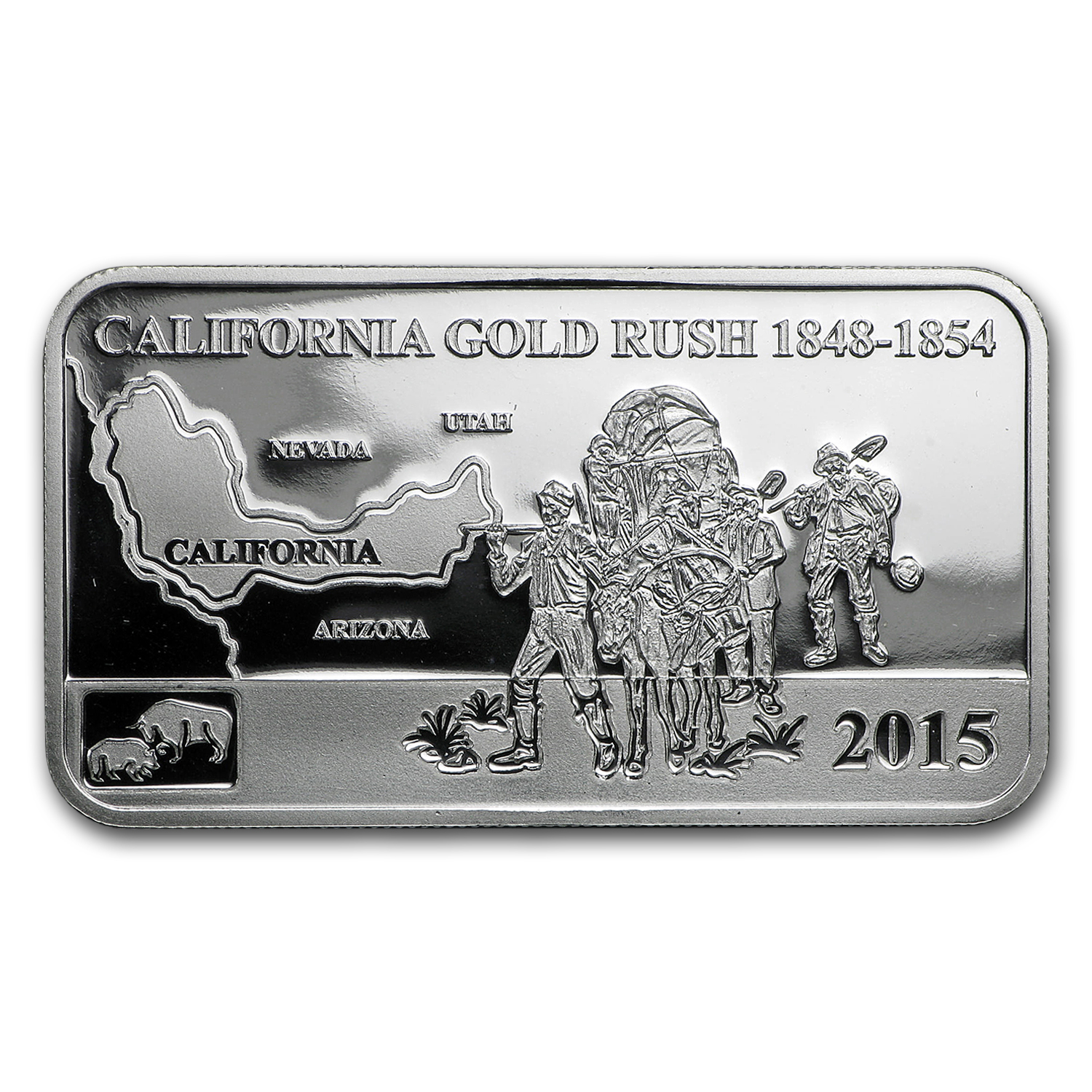 2015 Cook Islds 1 2 Oz Silver Global Trade California Gold