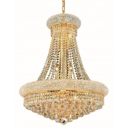 Elegant Lighting Primo 24 14 Light Crystal Chandelier