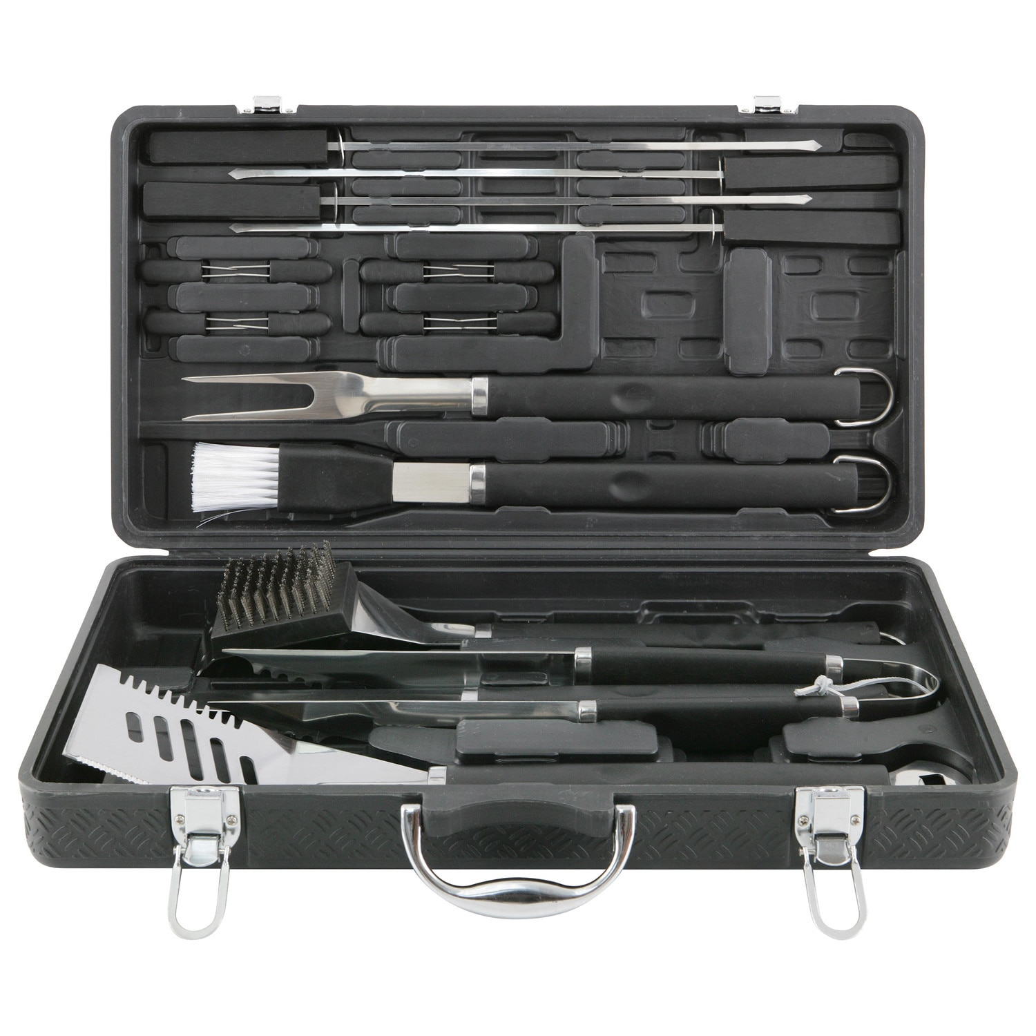 Mr. Bar-B-Q Mr BBQ 18-piece Grilling Tool Set with Plastic Case