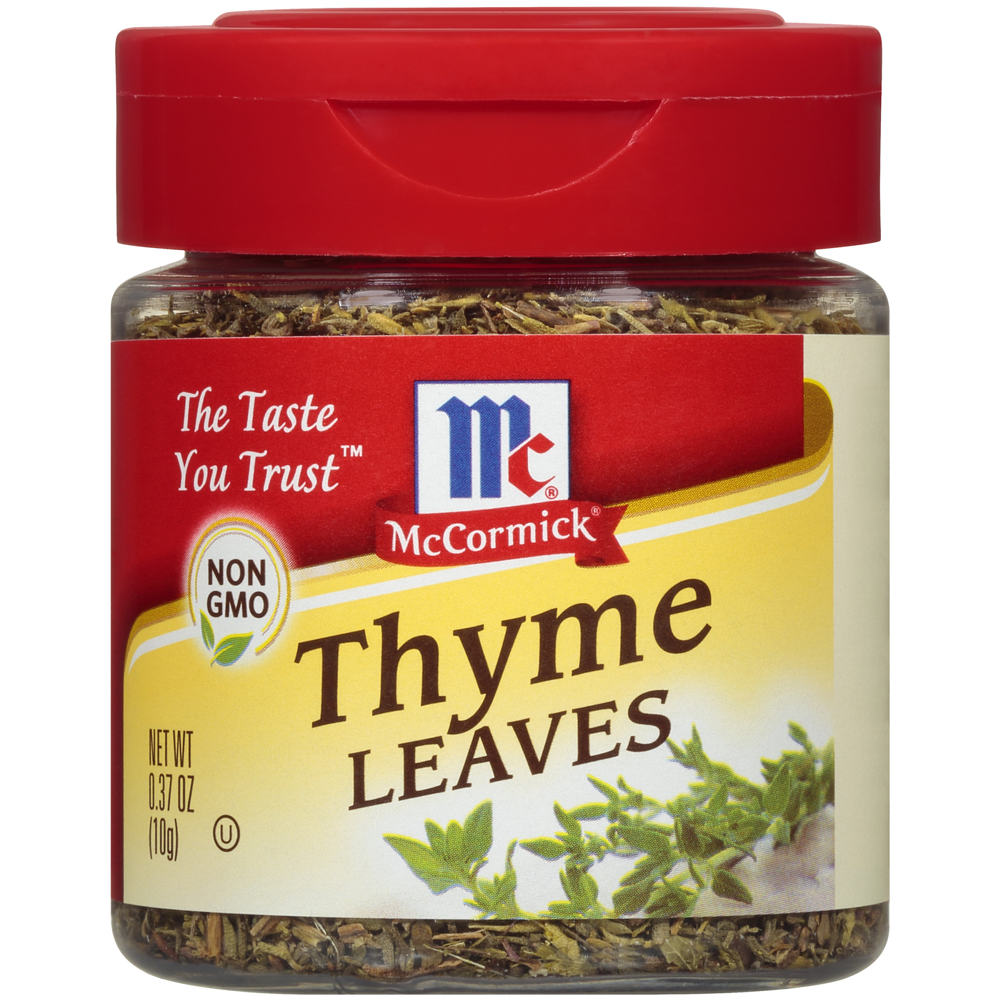(2 Pack) McCormick Thyme Leaves, 0.37 Oz