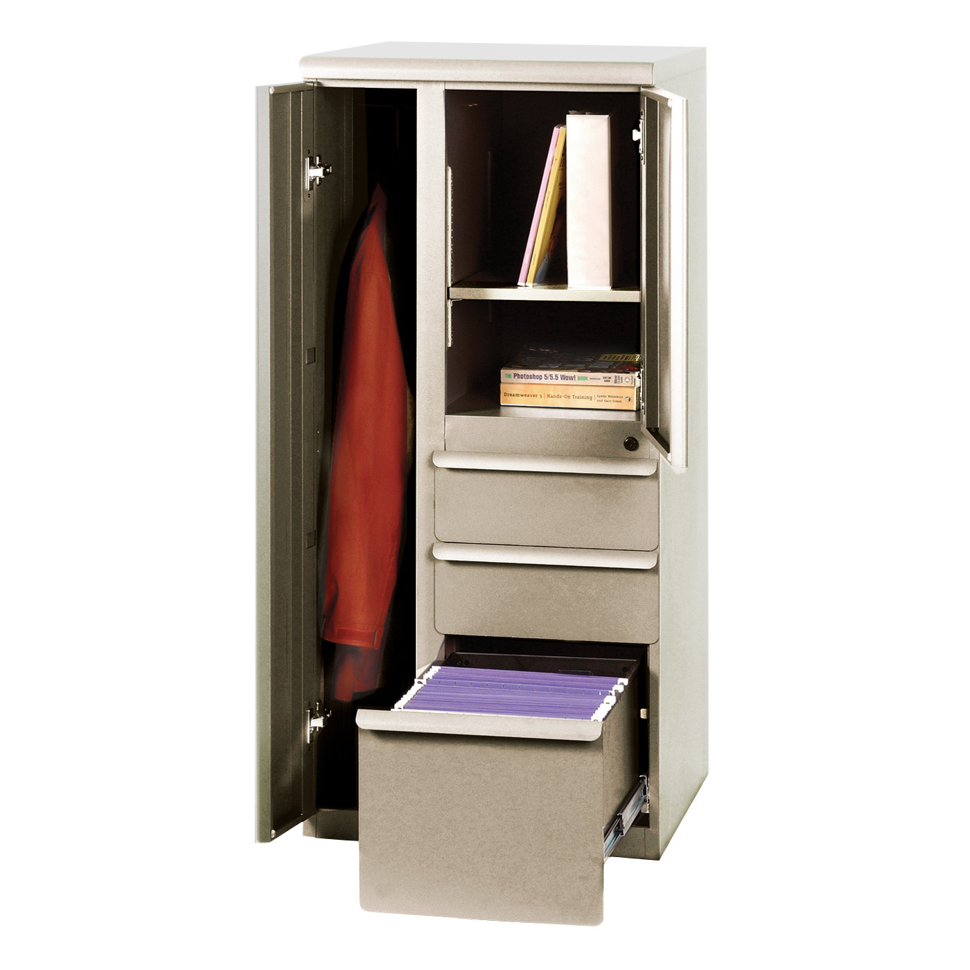 Marvel Office Furniture ZSAT24R Ensemble Personal Storage File Tower