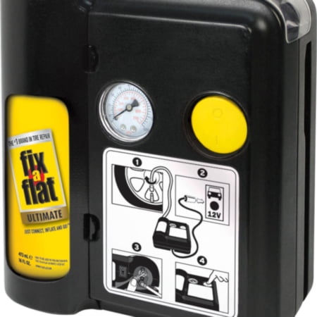 Fix-A-Flat Ultimate 1-Step Tire Repair Kit The Fix-A-Flat Ultimate 1-Step is based on the same technology as many of the Tire Repair Kits found in new vehicles being sold today, 1 kit, sold by each
