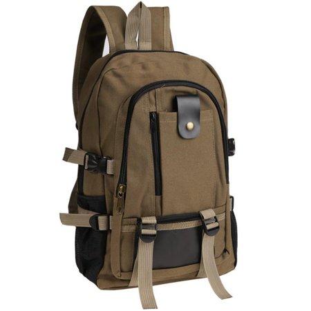 01ba717746 !Outdoor Hiking Bag Retro Men s Rucksack Canvas Backpack School Satche HFON  - Walmart.com