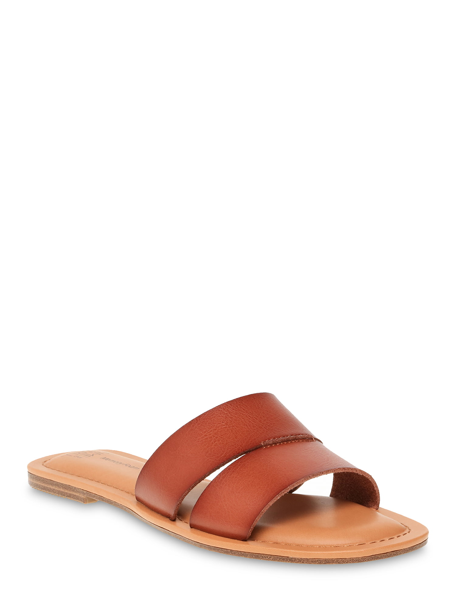 Time and Tru  Women's Time and Tru H Band Slide Sandal