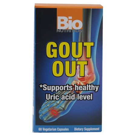 Bio Nutrition Gout Out Vegetable Capsules  60 Ct