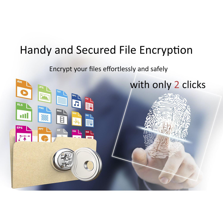 PQI Mini USB Fingerprint Reader Lock Security Key Biometric Scanner for  Laptop PC Desktop Windows 10,8,7 Hello, My Lockey 360-degree Touch