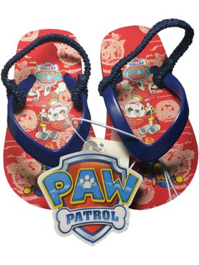 4cb744231 Product Image Paw Patrol Boy s Flip Flop Thong Beach Sandals-Red Navy-Size  S 5