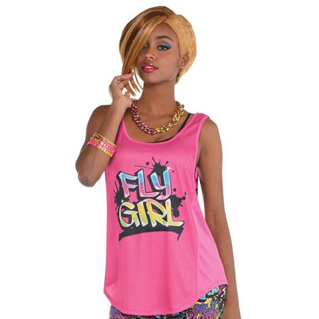 Hip Hop Oversized Tank Fly Girl Costume Accessory - Adult Women - Hip Hop Halloween Theme