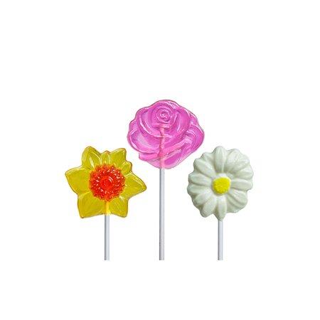 Sweet Flower Lollipop Assortment, 12 Count (Flower Lollipops)