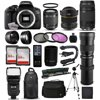 """Canon EOS Rebel T6i DSLR Digital Camera + 75-300mm III + 6.5mm Fisheye + 55-250 IS STM + 420-1600mm Lens + Filters + 128GB Memory + i-TTL Autofocus Flash + Backpack + Case + 70  Tripod + 67  Monopod Packing a high resolution 24.2-megapixel CMOS sensor and the DIGIC 6 Image Processor into a compact body is the EOS Rebel T6i DSLR Camera with 18-55mm Lens from Canon, which includes a versatile standard zoom lens useful for stills and video. This system enables shooting in a wide variety of conditions, from bright sunlight to dim indoor scenarios due to ISO performance of up to 12,800, which can be expanded to 25,600.<br><br><b>What's in the box:</b><br><br>Canon EOS Rebel T6i DSLR Camera with EF-S 18-55mm f/3.5-5.6 IS STM Lens<br>Eyecup Ef for Digital Rebel Cameras<br>RF-3 Camera Cover<br>EW-300D Wide Strap<br>LP-E17 Battery Pack<br>LC-E17 Charger for LP-E17 Battery Pack<br>IFC-130U Interface Cable<br>EOS DIGITAL Solution Disc<br>Limited 1-Year Warranty<br><br><b>47th Street Photo Accessories:</b><br><br>Opteka 6.5mm f/3.5 HD Aspherical Fisheye Lens with Hood<br>Canon EF 75-300mm f/4-5.6 III Lens<br>Opteka 420-800mm HD Telephoto Zoom Lens<br>Opteka High Definition 2X Telephoto Converter<br>Opteka 2.2x High Definition II Telephoto Lens<br>Opteka 0.43x High Definition II Wide Angle Lens<br>Professional 3 Piece Filter Kit (UV-CPL-FLD)<br>Deluxe Digital Camera Padded Carrying Case (Large)<br>64GB High Speed Class 10 Memory Card (2)<br>Memory Card Wallet<br>High Speed SD/SDHC/Micro SD Reader/Writer<br>Opteka Wireless Shutter Remote Control<br>Opteka X-GRIP Professional Action Stabilizing Handle<br>Opteka EF-790 DG Super TTL Flash<br>Professional Sling SLR Backpack<br>Opteka 67"""" MP100 Aluminum Monopod<br>Opteka OPT7000 70-inch Professional Tripod<br>Small Mini Tabletop Tripod<br>Lens Cleaning Kit<br>$50 Promo Code for Digital Photo Prints<br>47th Street Cleaning Cloth<br>"""