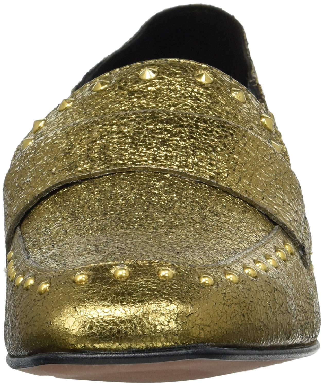 00e4ebc1717 Kenneth Cole New York Women s Bowan 2 Slip Stud Detail Loafer