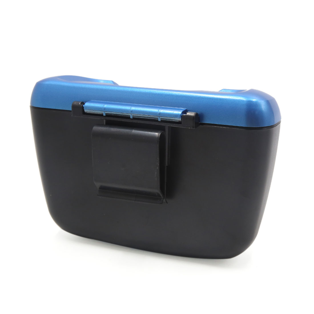 Vehicle Car Blue Trash Bin Rubbish Can Garbage Dust Case Holder Box - image 2 of 3