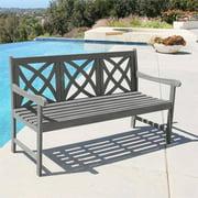 Renaissance Eco-friendly 5-foot Outdoor Hand-scraped Hardwood Garden Bench