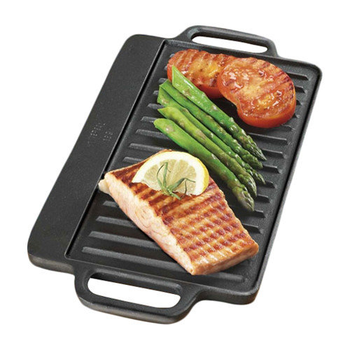 Universal Housewares Pre-Seasoned Reversible Grill Pan & Griddle