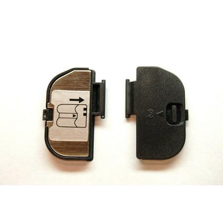 NIKON D80 D90 BATTERY DOOR COVER LID CAP NEW GENUINE AUTHENTIC REPAIR (New Battery Cover)