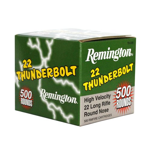 Remington THUNDERBOLT 22 Long Rifle, High Speed