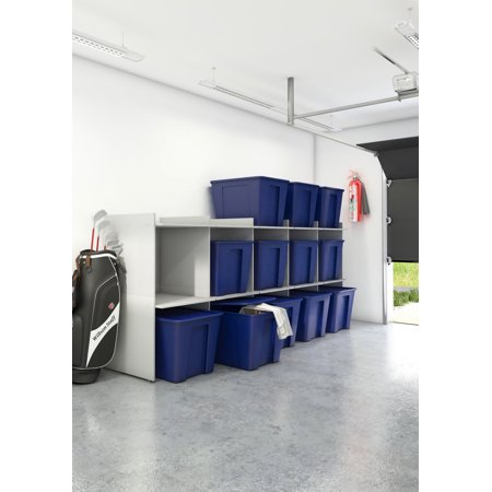 Box Spare (Space Utility Storage for Bins, Silver Grey )