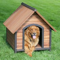 Precision Pet Outback Country Lodge Dog House with Heater