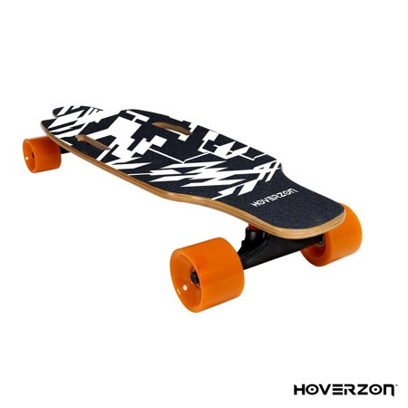 Hoverzon Hoverjet Electric Skateboard – Motorized Longboard with Wireless Remote