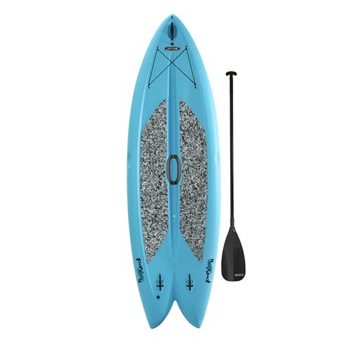 Click here to buy Lifetime Stand Up Paddle Board, Freestyle 9' 8'' Glacier Blue by Lifetime.