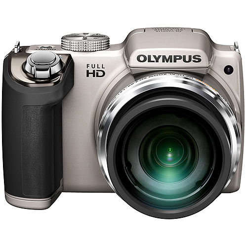 Olympus Silver SP-720UZ Digital Camera with 14 Megapixels and 26x Optical Zoom