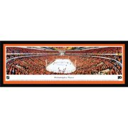 "Philadelphia Flyers 15.5"" x 42"" Select Framed NHL Panoramic"