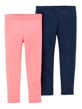 4dbbd7dd2feb5 Product Image Solid Leggings, 2-pack (Toddler Girls)