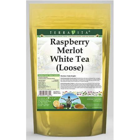 Raspberry Merlot White Tea (Loose) (8 oz, ZIN: 541988) - 2-Pack