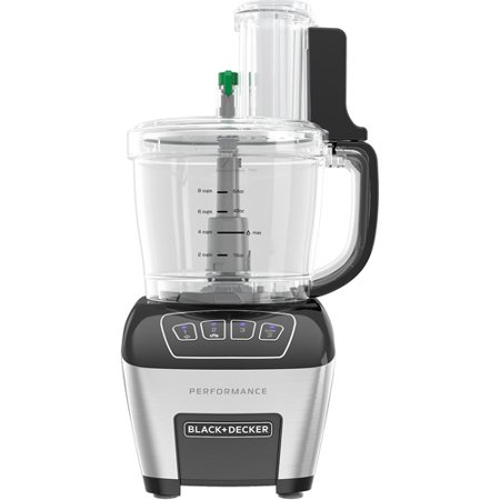 BLACK+DECKER 11-Cup Dicing and Slicing Performance Food Processor, FP6010