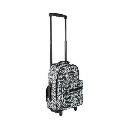 Wheeled Pattern Backpack ()