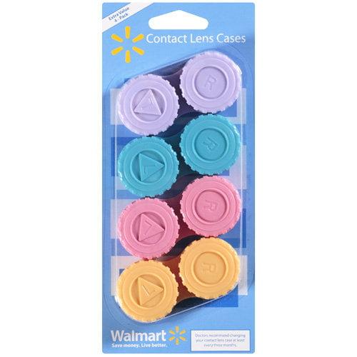 Walmart: Contact Lens Cases, 4 ct