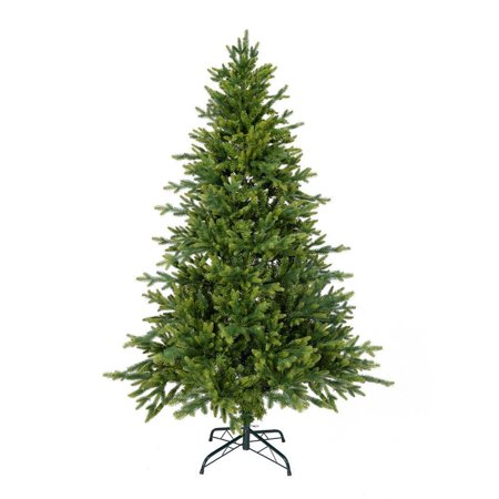 6 FT Artificial Christmas Trees Fir Spruce Full Tree PE & PVC Mix 800 Tips ()