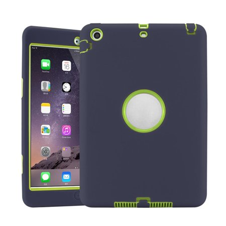Anti-Shock Armor Military Heavy Duty Case Cover kids For iPad Mini 1 2