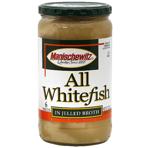 Manischewitz All Whitefish Jelled Fish, 24 oz (Pack of 12)