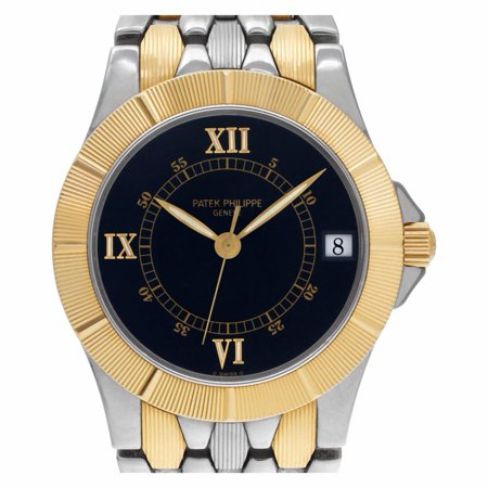 Pre-Owned Patek Philippe Neptune 5080/1 Gold Watch (Certified Authentic & Warranty)
